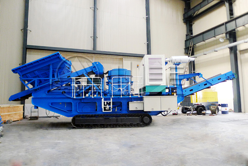 MP-C Series Mobile Cone Crushing Plants