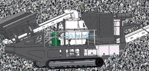 MP-VSI Series Mobile VSI Crushing Plants