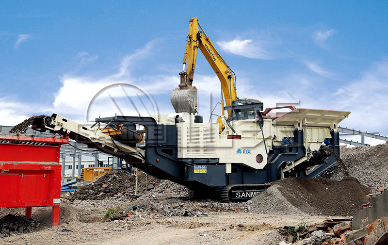 MP-PH Series Mobile Impact Crushing Plants