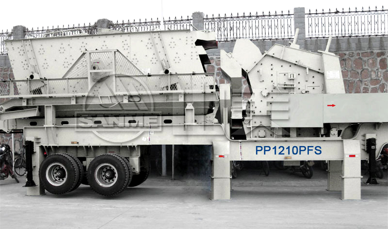 PP Series Portable Impact Crushers
