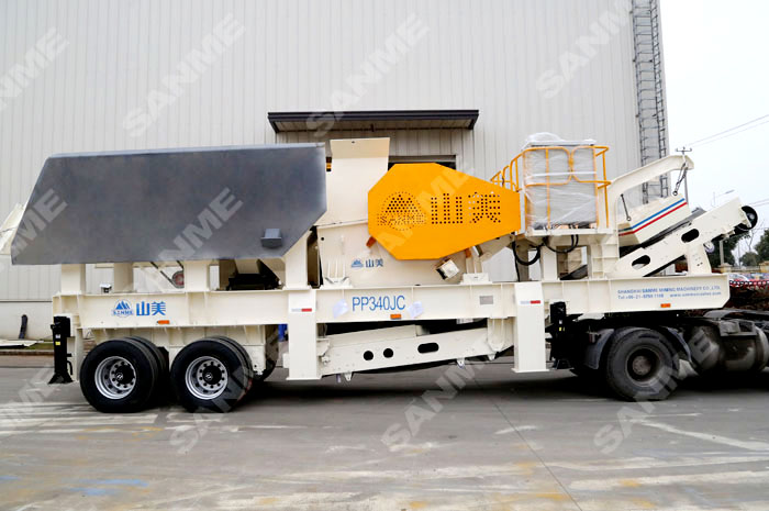 PP Series Portable Jaw Crusher